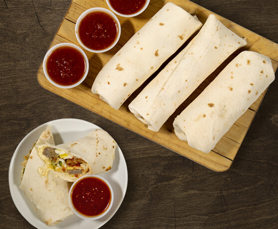 PICTURE: Take & Heat Breakfast Burrito Kit