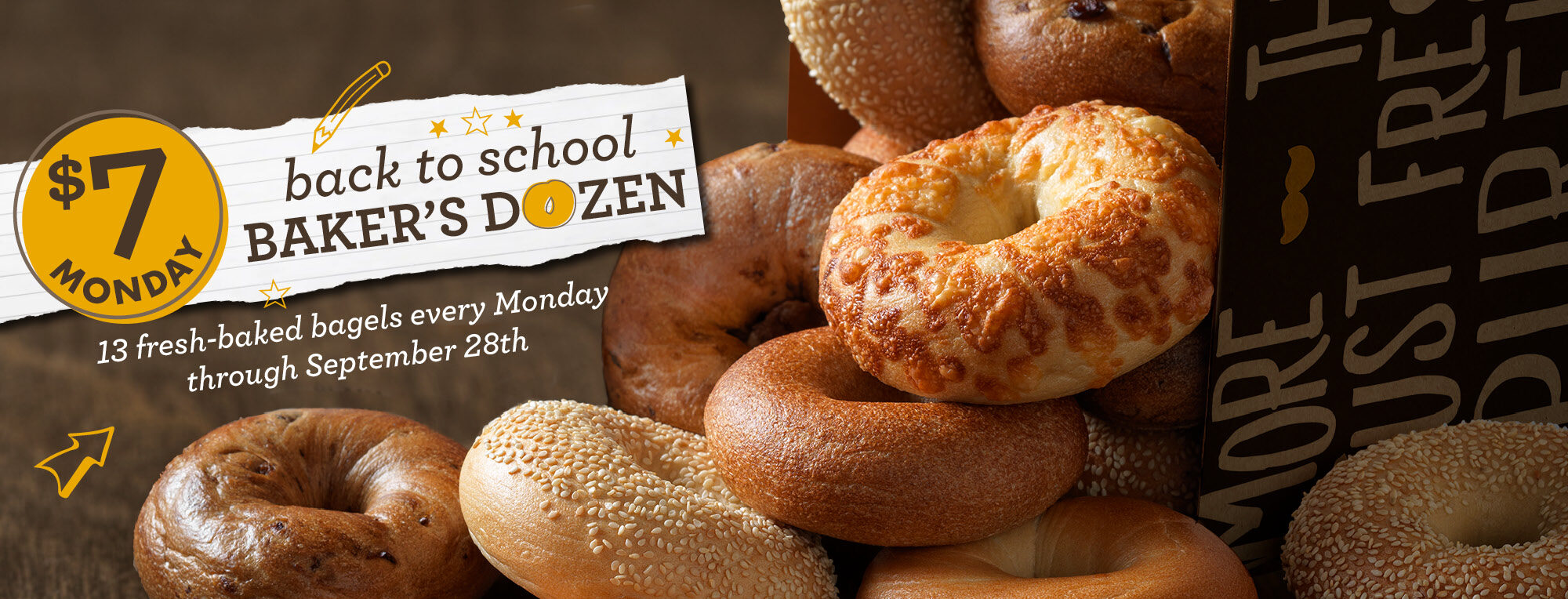ROTATING SLIDER: $7 Monday (Available to everyone - not coupon required) Back to School Special - Mondays through September